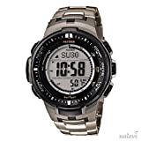 Casio Men's Watch XL Pro Trek Digital Quartz Resin PRW 3000Single