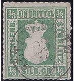 Goldhahn Mecklenburg-Strelitz Nr. 2 a gestempelt Geprüft Briefmarken für Sammler