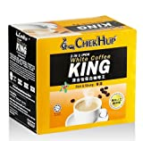 Chek Hup Ipoh Instant 3 in 1 White Coffee King Mix Rich & Strong 320g. (40g.x8 Sachets)