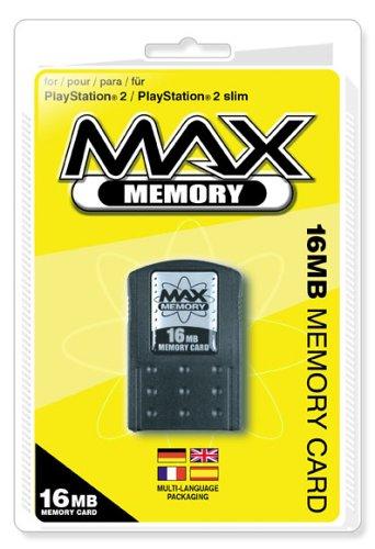 Playstation 2 - Max Memory Speicherkarte 16 MB