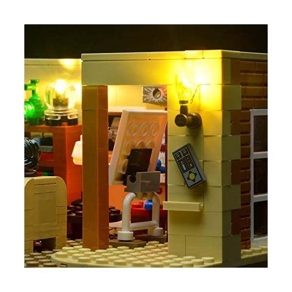 BRIKSMAX Kit di Illuminazione a LED per The Big Bang Theory, Compatibile con Il Modello Lego 21302 Mattoncini da… 2 spesavip