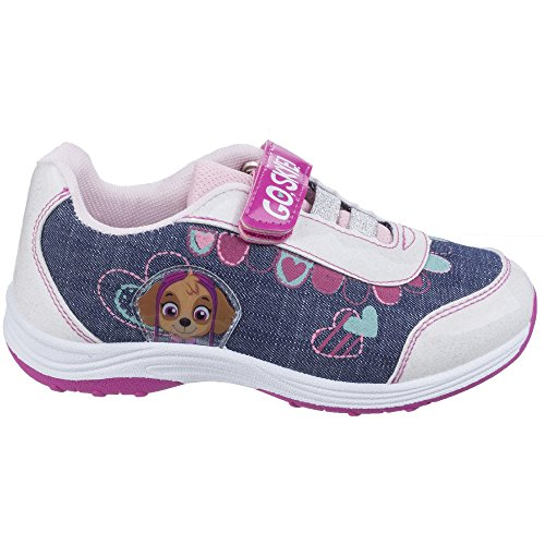 Leomil Girls Skye Sport Lightweight Casual Fashion Trainers Shoes