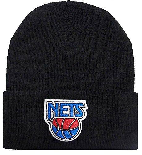 Mitchell & Ness Beanie Cuff Knit New Jersey Nets black