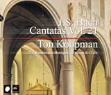 J. S. Bach - Cantatas, Vol 21 by Ton Koopman (2006-04-27)