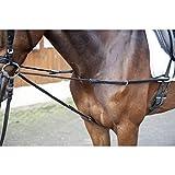 HKM Dreieckszügel -Kordel-, schwarz, Pony