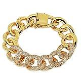 Damen Armbänder Vergoldet Torsion Oval Von Aienid