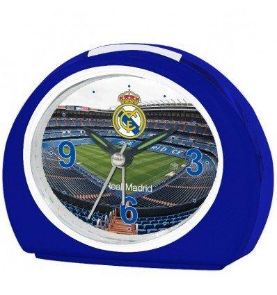 Seva Import Real Madrid Despertador, Azul/Blanco, Única