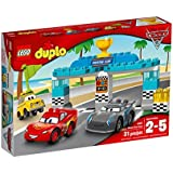 LEGO - 10857 - DUPLO - Jeu de Construction - La course de la Piston Cup