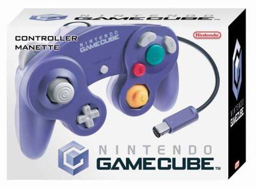 GameCube - Controller Clear Purple