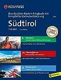 Südtirol: 3 in 1: Das KOMPASS-Outdoor-Karten Ringbuch mit kompletter Gebietsabdeckung 1:35000: Outdoorkaarten 1:35 000 in ringband