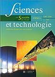 Image de Sciences et technologie, cycle 3. Livre de cycle