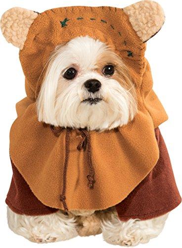 Star Wars - Disfraz Ewok para Mascota, S (Rubie'S Spain 887854-S)