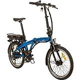 Remington Urban Folder 20 Zoll Faltrad E-Bike Klapprad Pedelec StVZO, Farbe:Blau