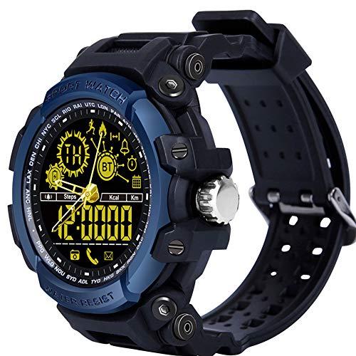 Orologi Intelligenti,LEMFO LF21 50M Impermeabile Cronometro Distanza Traccia Pedometro Chiamata Ricordare Remoto Fotocamera Fisica Heavy Duty Fitness Sportivi Bluetooth Smartwatch per Gli Uomini