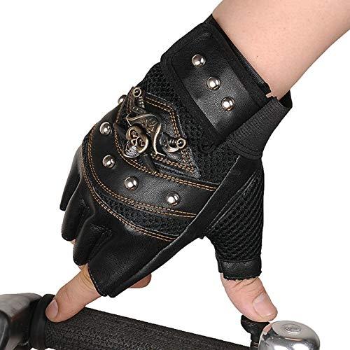 KnBoB Frühling Sommer Handschuhe Für Herren Handschuhe Fingerlos Handschuhe Motorrad Handschuhe Motorrad Winter Sonstige Schwarz One Size