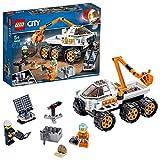 LEGO City Space Port - Prueba de Conducción del Róver, Juguete de Construcción de Vehículo Espacial para Recorrer Marte, Incluye dos Minifiguras (60225)