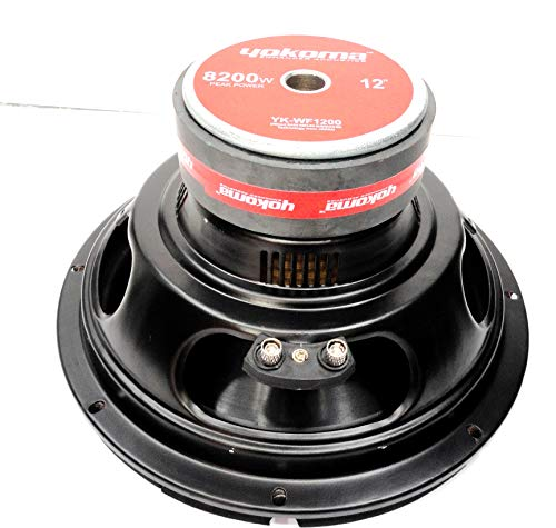 "YOKOMA 12"" Subwoofer for Car Audio for Low Frequency Bass (Double Magnet/Very High Output) (Sub-woofer Without Cylinderical Box)"