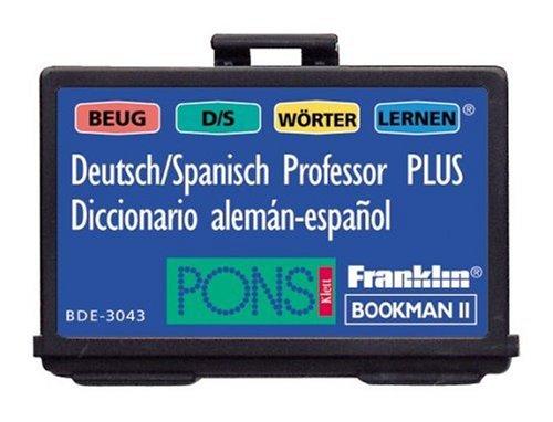 Franklin BDE-3043  Deutsch/Spanisch-Professor PLUS elektronisches Wörterbuch