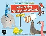 Schnipp, schnipp, hurra! Mein erstes Papierschneidebuch – Im Zoo: Formen ausschneiden und aufkleben – für Kinder ab 3 Jahren