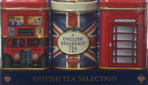 New English Teas British Tea Selection Mini Triple Gift Set, 70 g