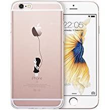 iPhone 6/6s Funda, ESR Suave Carcasa iPhone 6/6s Case Cover Silicona Funda para Apple iPhone 6 / iPhone 6s - Apple Globo