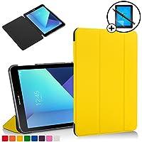 Forefront Cases® Samsung Galaxy Tab S2 9.7 SM-T810 / Galaxy Tab S3 9.7 SM-T820 Funda Carcasa Stand Smart Case Cover Protectora Plegable – Función automática inteligente de Suspensión/Encendido + Lápiz óptico y protector de pantalla
