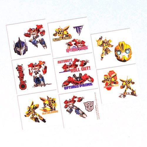 Amscan Mighty Transformers Birthday Party Temporary Tattoos Favor , 2 x 1, Multicolor by ()