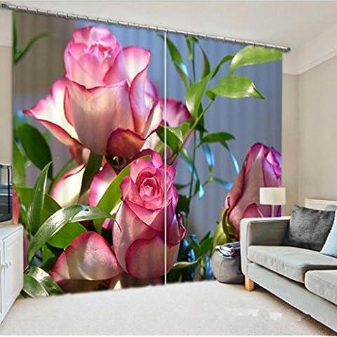 GYMNLJY 3D stereo fiori personalizzati tende Home