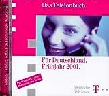 Produkt-Bild: Das Telefonbuch für Deutschland Frühjahr 2001. 2 CD- ROMs für Windows 3.1/95/98/ NT 4.0/2000/ ME/ MacOS ab 7.5/ Linux
