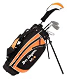 Ben Sayers Right-Handed M1i Junior Package Set with Stand Bag - Orange - 9-11 years