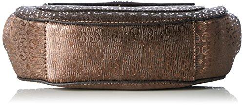 Guess - Sac à bandoulière Marian (HWMG6536210) taille 23 cm Marron (Bronze)