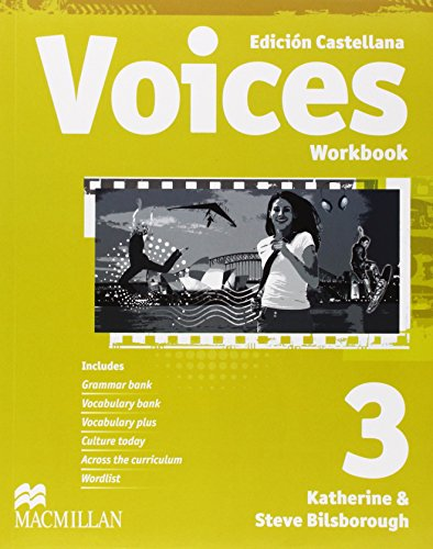 VOICES 3 Wb Pk Cast - 9780230034174