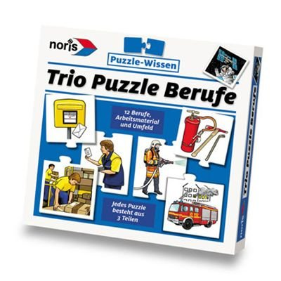 Noris 6033440 Trio-Puzzle 'Berufe'