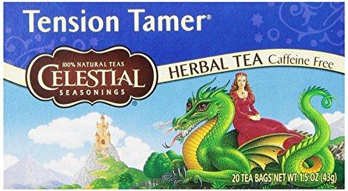 Celestial Seasonings Tee Tension Tamer 20 Teebeutel (3 Packungen) (Tension Tamer Tee)
