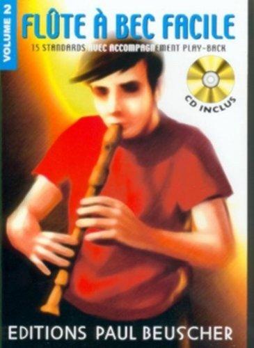 Partition : Flute a bec facile vol.2 + CD