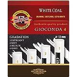 KOH-I-NOOR duro carbón vegetal adicional Artificial - White (4 unidades)