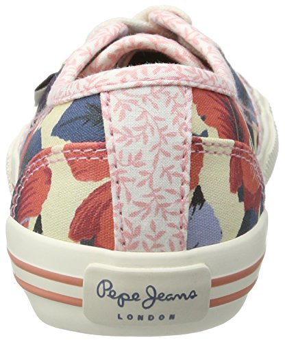 Pepe Jeans Mädchen Baker Caribe Low-Top Blau (Blueprint)