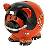Chicago Bears NFL Resin Large Thematic Piggy Bank