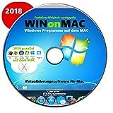 WINDOWS auf dem MAC Virtualisierungssoftware f�r Mac Desktop f�r Mac Version 2018 CD DVD Alternative zu Parallels Bild