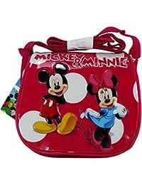 Preisvergleich für Disney Minnie und Mickey Mond Die Eiskönigin Kinden Umhängetaschen Henkeltaschen Umhängetaschen