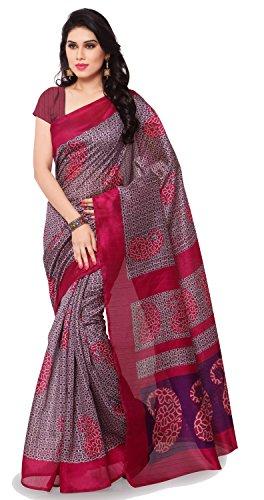 Samskruti Sarees Art Silk Saree (Syuv-5718B_Pink)