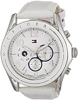 Reloj de mujer Tommy Hilfiger Watches 1781052 de cuarzo, correa de piel, color blanco de Tommy Hilfiger