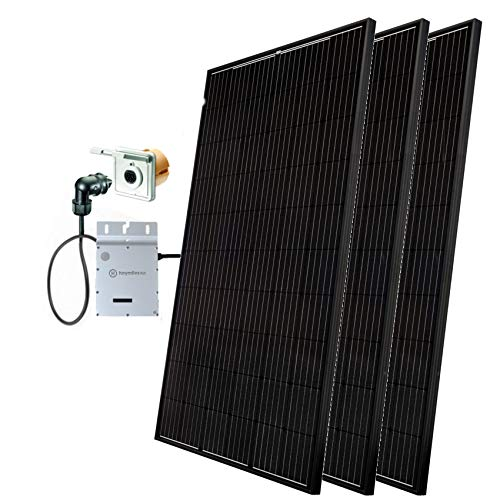 Minisolar Balkonsolar Mono Single-Set 300 W inkl. Einspeissteckdose