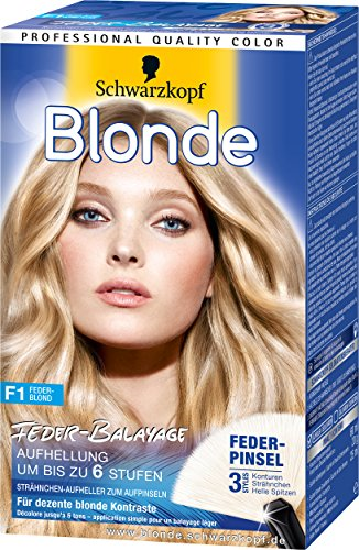 Blonde F1 Feder-Blond Aufheller, 3er Pack (3 x 105 ml)