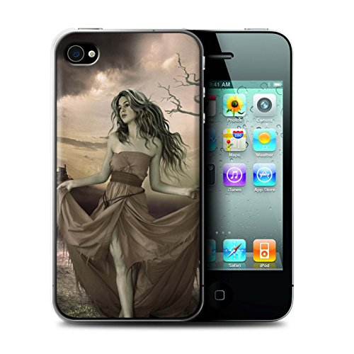 Officiel Elena Dudina Coque / Etui pour Apple iPhone 4/4S / Jessica Design / Caractère Conte Fées Collection Notre Dame