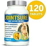JOINTSURE condroprotector Perros  120 Comprimidos   con mejillón de Labio Verde, glucosamina y condroitina Natural.   Este antiinflamatorio para Perros.