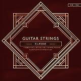 Gitarrensaiten Nylon .028-.043/ Konzertgitarren/Akustikgitarren und klassische Gitarren/hochwertiger Nylonqualität mit temperaturbeständigem Schutzlack