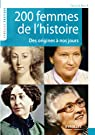 200 femmes de l'histoire par Gasquy-Resch