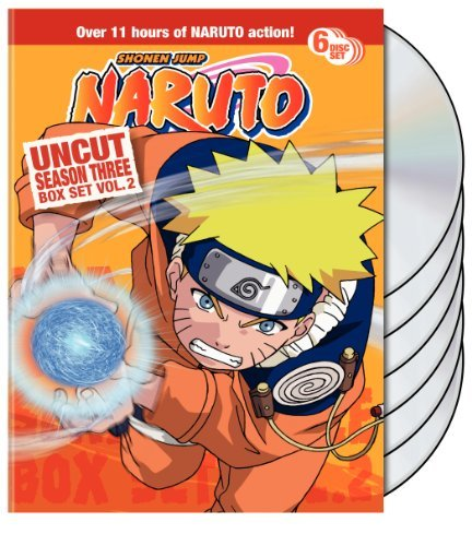 Naruto Uncut Box Set: Season 3, Vol. 2