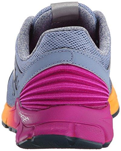 New Balance Wrush, Chaussures de course femme gris (Gris - Grau (YP GREY/PURPLE 12))